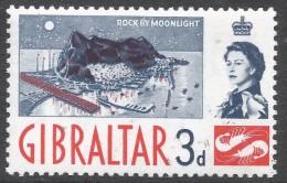 Gibraltar. 1960-62 QEII. 3d MNH. SG164 - Gibraltar