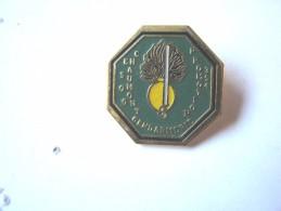 INSIGNE PINS GENDARMERIE NATIONALE ECOLE ESOG DE CHAUMONT PROMOTION 354 ETAT EXCELLENT - Militaria
