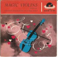 "Helmut Zacharias  Magic Violins  1958  VG+/VG+ 7"" - Vinyl Records"