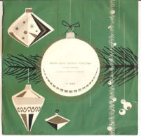 """Victor Somma, Orchestra Gianni Fallabrino – Buon Anno Buona Fortuna - NM/NM 7"""" - Christmas Carols"""