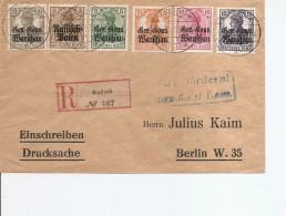 Gouvernement Général ( Lettre Recommandée De 1918 De Kalisch Vers Berlin à Voir) - 1939-44: 2ème Guerre Mondiale