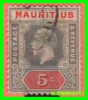 MAURITIUS  ( AFRICA )  SELLO  AÑO 1912  GEORGE V KING - Mauritania (1960-...)
