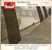 """Helmut Zacharias  Rendezvous With Paris  VG+/NM 7"""" - Vinyl Records"""