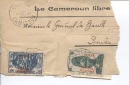 Cameroun TP S/fragment De Manchon Du JL 'Le Cameroun Libre'c.Yaoundé Oct 41 V.Mr Le Général De Gaulle à Londres PR3169 - Cameroun (1915-1959)