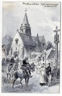 Histoire--Jeanne D´Arc--illustrateur  ROBIDA--Ste Catherine De Fierbois--L'épée Remise Aux Envoyés De Jeanne D´Arc - Histoire