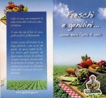 # COURGETTE FLOWERS AGRIBOLOG Tag Balise Etiqueta Anhänger Cartellino Fiori Zucca Calabacìn Vegetables Gemüse Legumes - Fruits & Vegetables