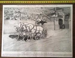 DOCUMENT ANNEE 1900 SPORT ANTIQUE LE VAINQUEUR DE LA COURSE DE CHARS PAR GEORGES SCOTT - Non Classés