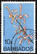 Barbados Arachnis Maggie Oei Fine Used Stamp - Plants