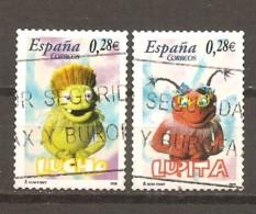 España/Spain-(usado) - Edifil  4177-78, 4180 - Yvert  3769-70, 3772 (o) - 1931-Hoy: 2ª República - ... Juan Carlos I