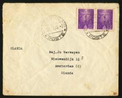 VATICAN - Julyu 26, 1949 Cover Sent To Amsterdam, The Netherlands With MICHEL #143 2x. - Vaticano (Ciudad Del)