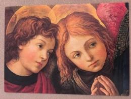 FLIPPINO LIPPI  ZWEI ENGELSKOEPFE - Malerei & Gemälde
