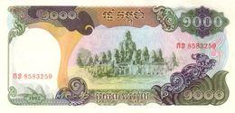 CAMBODIA 1000 RIELS 1992 P-39a UNC  [KH402a] - Cambodia