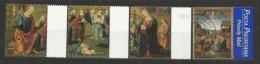 1999 Vaticano Vatican NATALE CON PRIORITARIA  CHRISTMAS Serie Di 4v. Usata USED Con Gomma - Natale