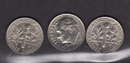 One Dime 2002-2003-2007 - Federal Issues