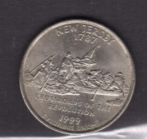 199-new Jersey Quarter Dollar - Federal Issues