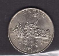 199-new Jersey Quarter Dollar - 1999-2009: State Quarters