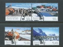 Australian Antarctic Territory 2004 Mawson Base Set Of 4 VFU Melbourne CTO - Used Stamps