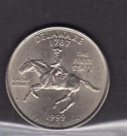199 Delaware Quarter Dollar - Federal Issues