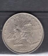 2001 New York Quart Dollar - 1999-2009: State Quarters