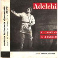 "Vittorio Gassman  C. D'Angelo  Adelchi Collana Letteraria Documento VG+/VG+ 7"" - Sonstige"