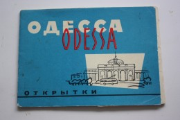 Odessa  - Old USSR PC -- 7 Postcards Lot  - 1966 - Ukraine
