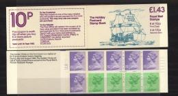 GB  -  Carnets  :  Yv  C 1018AB     SG  FN  3  A   **   Color Code Printed On Margin - Markenheftchen
