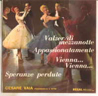 """Cesare Vaia – Valzer DI Mezzanotte 1962 - NM/NM 7"""" - Country & Folk"""