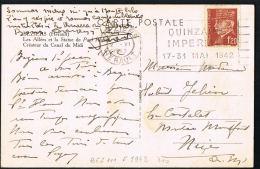 CPA BEZIERS -QUINZAINE IMPERIALE   17-31 MAI 1942- Voyagée 2 VI 1942- Timbre PETAIN 1F,20-Trés Bon état - 1942 Protection De L'Enfance Indigène & Quinzaine Impériale (PEIQI)