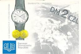 Amateur Radio QSL Card - DM2CZL - Germany - 1968 - 2 Scans - STAMPED - Radio Amateur