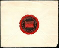 1922 Louis Carabott Stamp Dealer Malta Cover To Salt Lake Utah USA - Seal - Malta