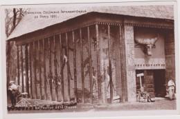 Cpa,1931,exposition Coloniale Internationale De Paris,afrique,cameroun,togo,le Pavillon De La Chasse - Cameroun