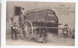 CPA ITALIE - FIRENZE - Scaricamento Del Vino - SUPERBE PLAN ANIMATION VIN ALCOOL Métier - Firenze (Florence)
