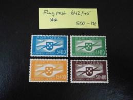 PORTUGAL 642/45 POSTFRISCH ** (MNH) GERINGE GUMMIFEHLER.  A 95 - Neufs