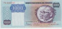 Angola 1000 Escudos 1987 Pick 121b UNC - Angola