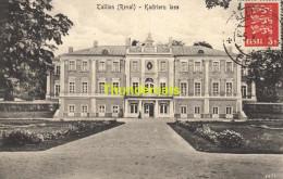 CPA ESTONIA ESTLAND TALLINN REVAL KADRIORU LOSS - Estonie