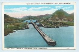 Panama Canal - Bird's Eye View Od Pedro Miguel Locks - Panama
