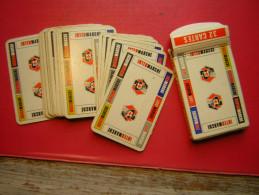JEU / JEUX DE 32 CARTES  AVEC SA BOITE EN CARTON PUB INTER MARCHE - 32 Cartes
