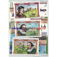 VAITUPU 25 TIMBRES DIFFERENTS - Timbres