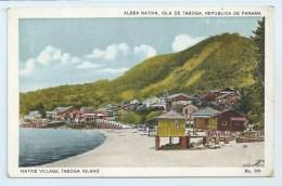 Panama - Native Village Taboga Island - Panama