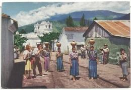Guatemala: Mujeres Que Llevan El Agua -  Publicidad Pan American World Airways - Guatemala