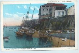 Panama City, A Glimpse Of The Waterfront - Panama