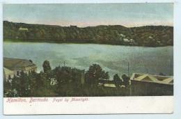 Bermuda, Hamilton - Paget By Moonlight - Postcards