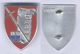 Insigne Du Bureau Central Des Archives Et D'Administration Militaire - Armée De Terre