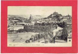 LE PUY VUE PRISE DU ROCHER D ESPALY CARTE EN BON ETAT - Le Puy En Velay