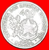§ 21 STARS: BRAZIL ★ 400 REIS 1901! LOW START★ NO RESERVE! - Brasilien