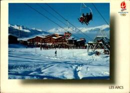 LES ARCS..STATION OLYMPIQUE....CPM - Deportes De Invierno