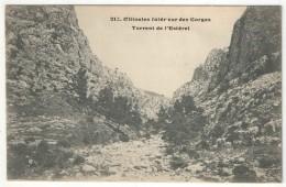 83 - OLLIOULES - Intérieur Des Gorges - Torrent De L'Estérel - Ollioules