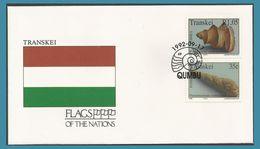 Namibie 1991 660 + 662 FDC Zèbre Des Montagnes Drapeau - Namibie (1990- ...)