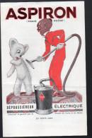 Dépliant ASPIRON (dépoussiéreur électrique) Dessin René VINCENT?? (non Signé) (PPP3545) - France