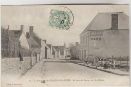 CPA LA CHAPELLE SAINT AUBIN  (Sarthe) - Le Haut Du Bourg Vers La Milesse - Andere Gemeenten